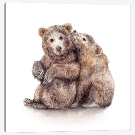 Bears Canvas Print #RGF130} by Wandering Laur Canvas Print