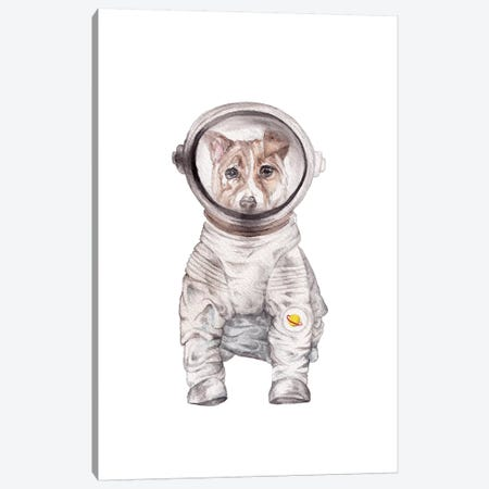 Laika Canvas Print #RGF136} by Wandering Laur Canvas Art