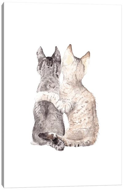 Best Friends Canvas Art Print