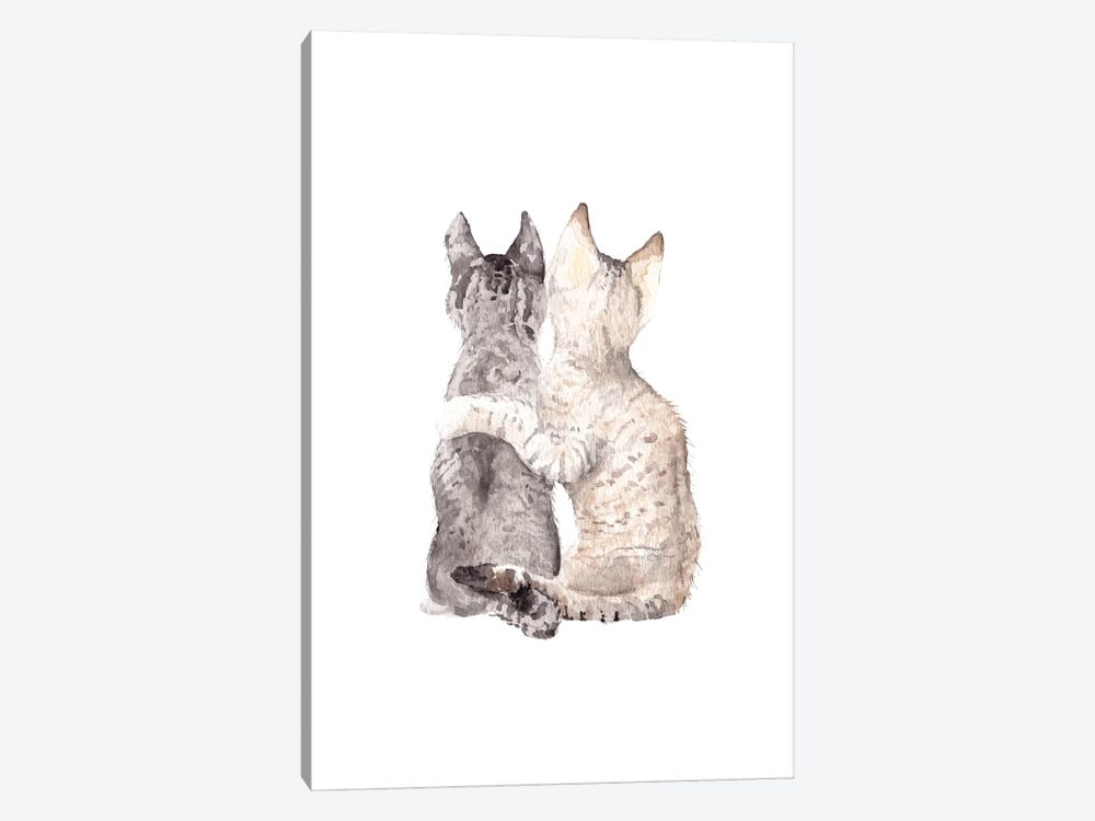 Best Friends by Wandering Laur 1-piece Canvas Art Print