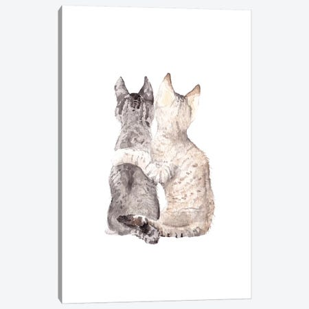Best Friends Canvas Print #RGF19} by Wandering Laur Canvas Print