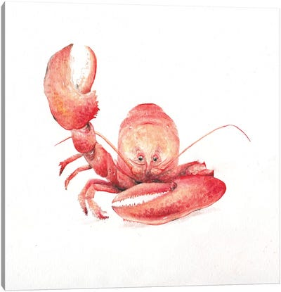 Lobster Canvas Art Print