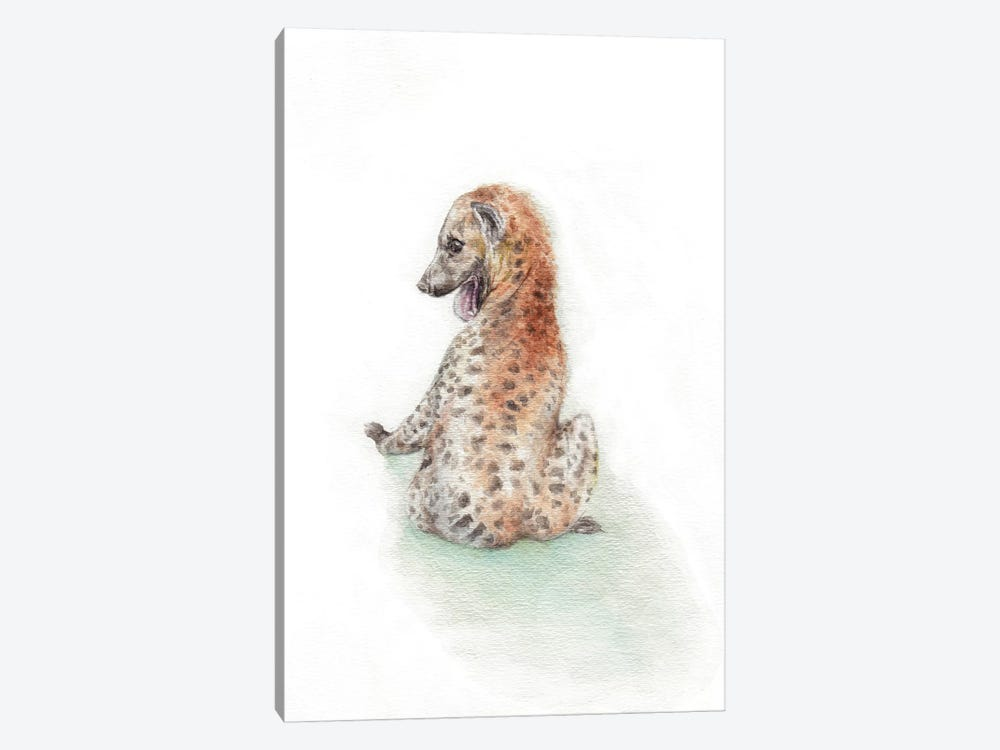 Playful Hyena by Wandering Laur 1-piece Art Print