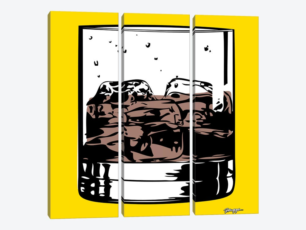 Cocktail IV by JRuggs 3-piece Canvas Print