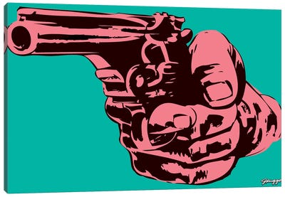 Gun I Canvas Art Print