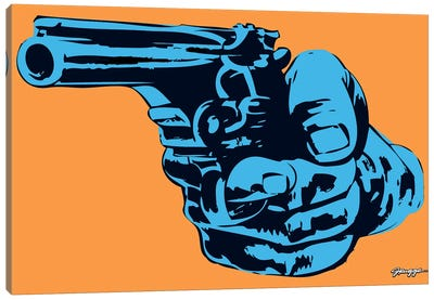 Gun II Canvas Art Print