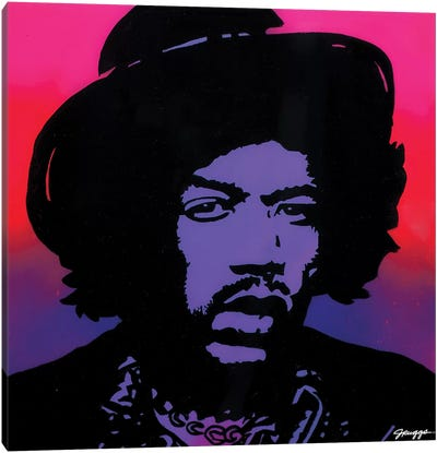 Hendrix Hat Canvas Art Print
