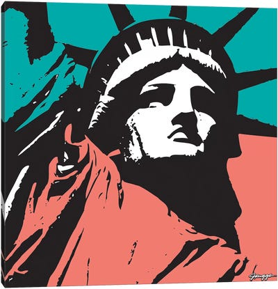 Liberty I Canvas Art Print