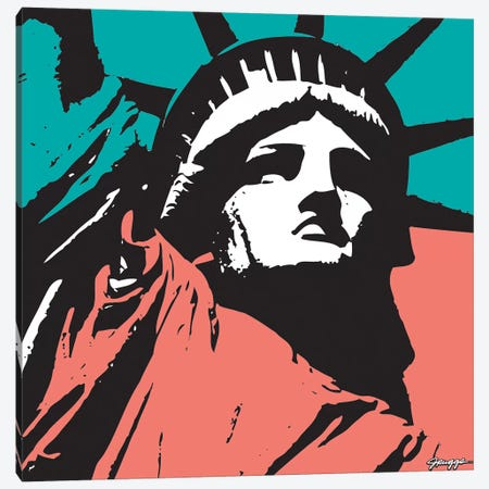 Liberty I Canvas Print #RGG17} by JRuggs Canvas Print