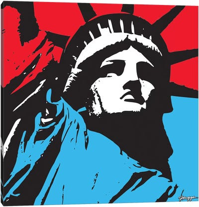 Liberty II Canvas Art Print