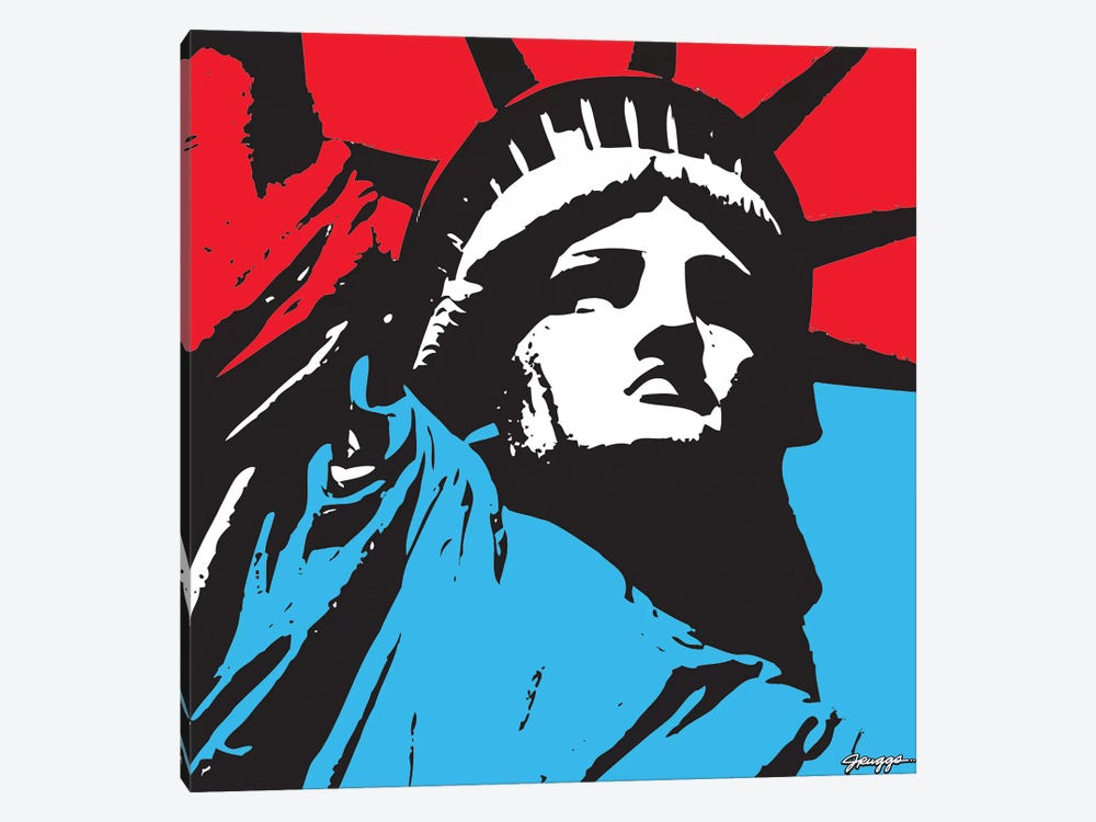 Liberty II by JRuggs 1-piece Canvas Print