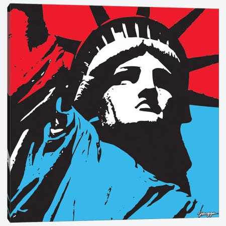 Liberty II Canvas Print #RGG18} by JRuggs Canvas Art