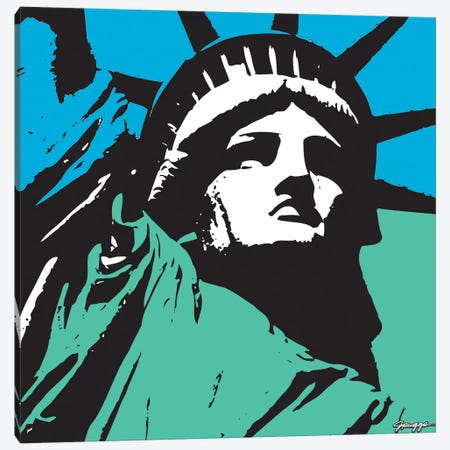 Liberty III Canvas Print #RGG19} by JRuggs Canvas Wall Art