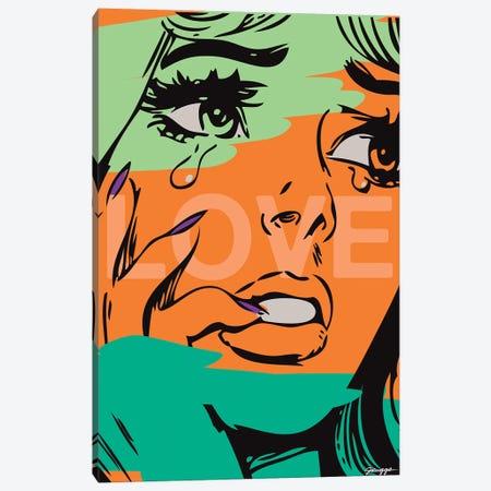 Love II Canvas Print #RGG21} by JRuggs Canvas Art Print