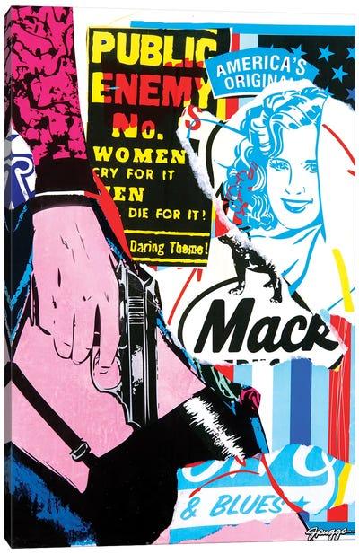 Mack I Canvas Art Print