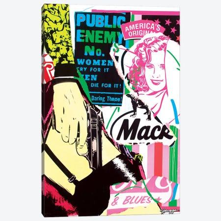 Mack II Canvas Print #RGG24} by JRuggs Canvas Wall Art