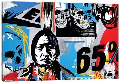 Out West Canvas Art Print
