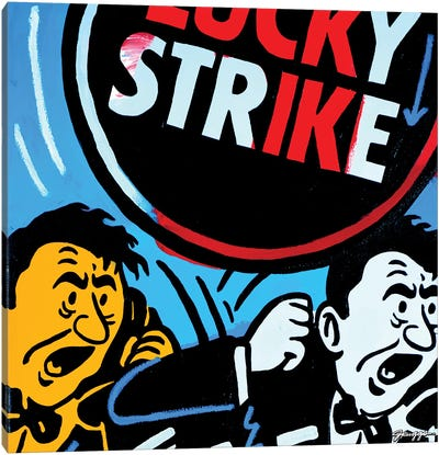 Strike Canvas Art Print