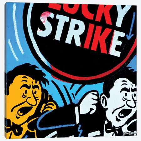 Strike 3-Piece Canvas #RGG37} by JRuggs Art Print