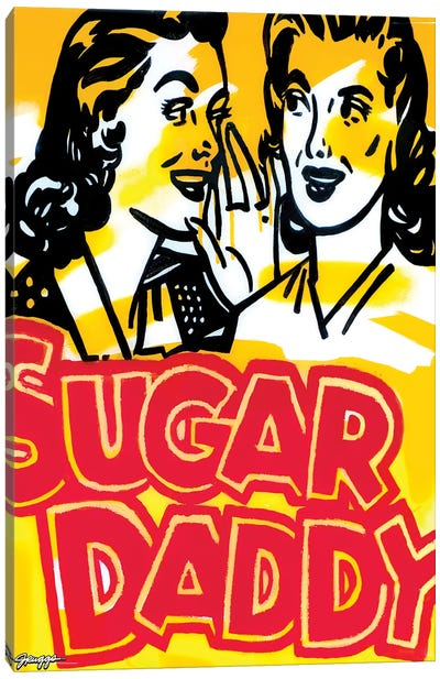 Sugar Daddy Canvas Art Print
