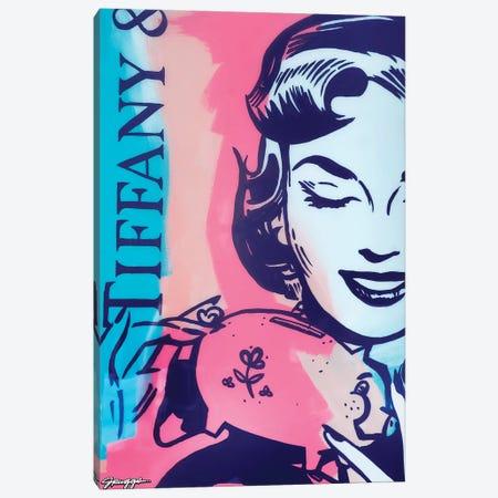 Tiffany Canvas Print #RGG40} by JRuggs Art Print