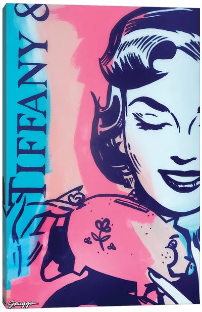 Tiffany Canvas Art Print