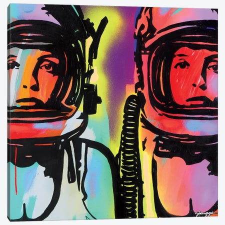 Astronauts Canvas Print #RGG4} by JRuggs Canvas Art