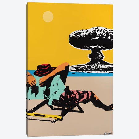 Beach Bomb Canvas Print #RGG5} by JRuggs Canvas Artwork