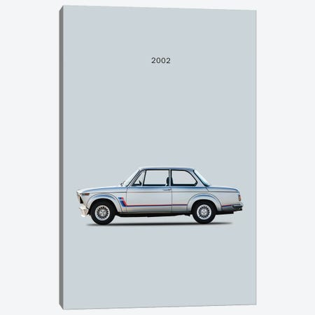 BMW 2002 Turbo Canvas Print #RGN103} by Mark Rogan Canvas Print