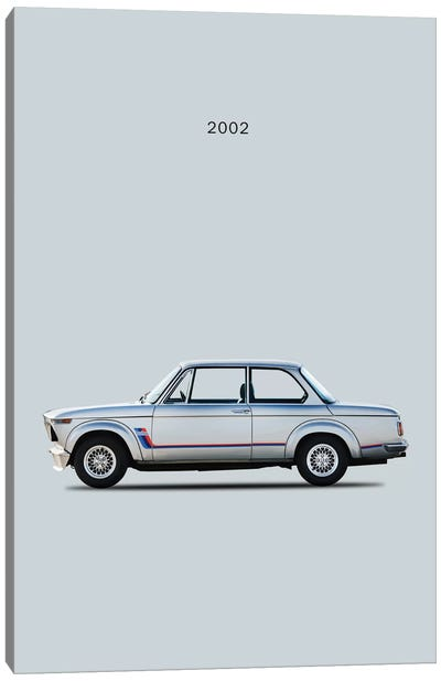 BMW 2002 Turbo Canvas Art Print