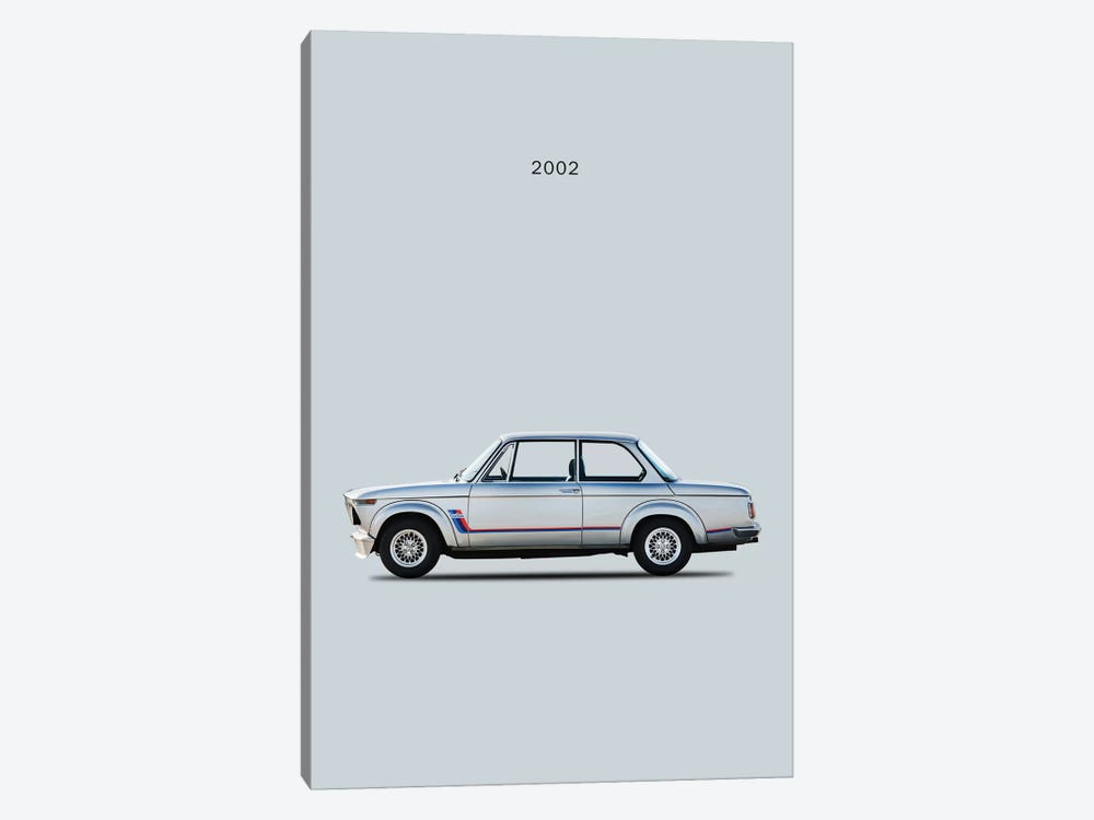 BMW 2002 Turbo by Mark Rogan 1-piece Art Print