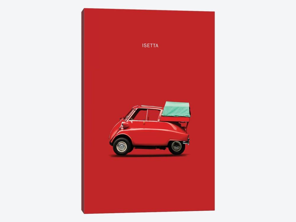 BMW Isetta 300 (Red) by Mark Rogan 1-piece Canvas Wall Art