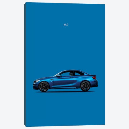 BMW M2 Canvas Print #RGN106} by Mark Rogan Canvas Artwork