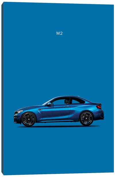 BMW M2 Canvas Art Print
