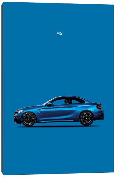 BMW M2 Canvas Art Print