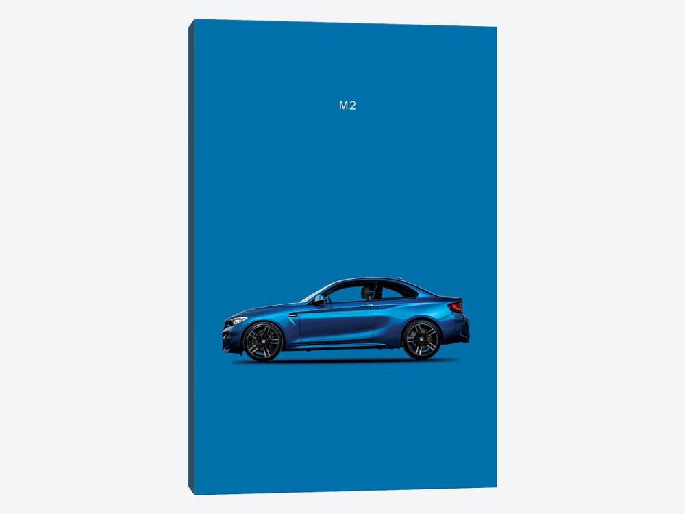 BMW M2 by Mark Rogan 1-piece Canvas Wall Art