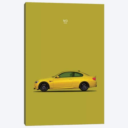 BMW M3 E92 Canvas Print #RGN107} by Mark Rogan Canvas Art