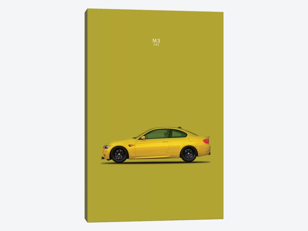 BMW M3 E92 by Mark Rogan 1-piece Art Print