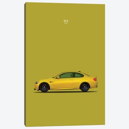 BMW M3 E92 3-Piece Canvas #RGN107} by Mark Rogan Canvas Art