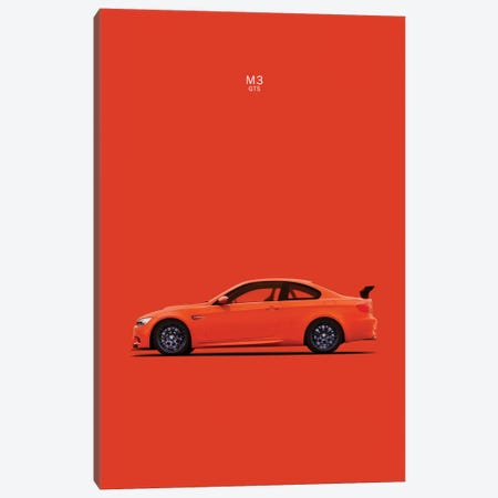 BMW M3 E92 GTS 3-Piece Canvas #RGN108} by Mark Rogan Canvas Print