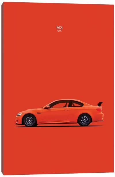 BMW M3 E92 GTS Canvas Art Print