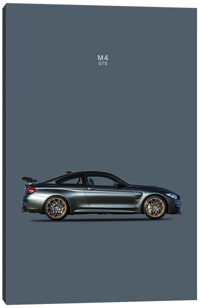 BMW M4 GTS Canvas Art Print