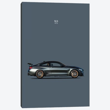 BMW M4 GTS Canvas Print #RGN109} by Mark Rogan Art Print