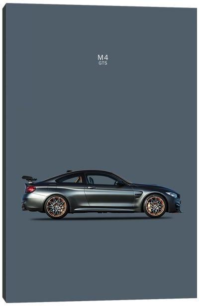 BMW M4 GTS Canvas Art Print