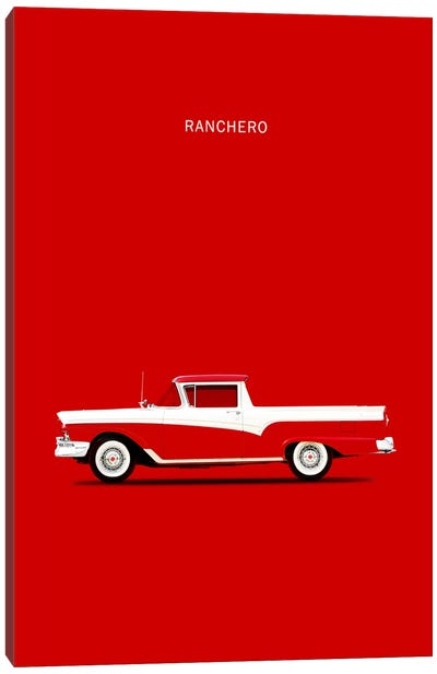 1957 Ford Ranchero Canvas Print #RGN10