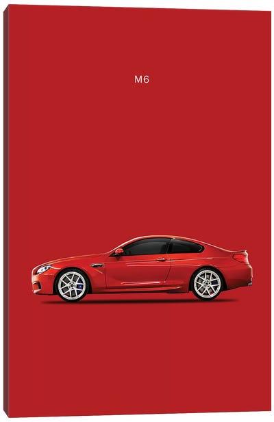 BMW M6 Canvas Print #RGN110