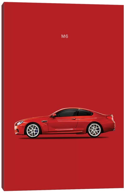 BMW M6 Canvas Art Print