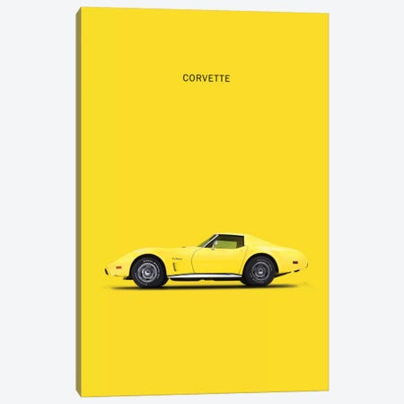Chevrolet Corvette Canvas Print #RGN111} by Mark Rogan Canvas Artwork