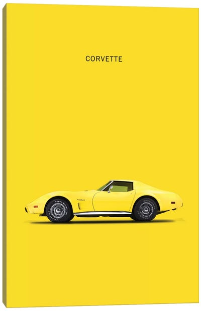 Chevrolet Corvette Canvas Print #RGN111
