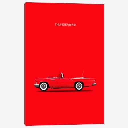 1957 Ford Thunderbird Canvas Print #RGN11} by Mark Rogan Canvas Print